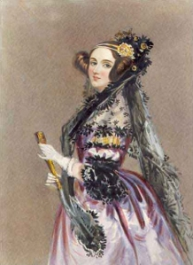 Ada Lovelace by Alfred Edward Chalon